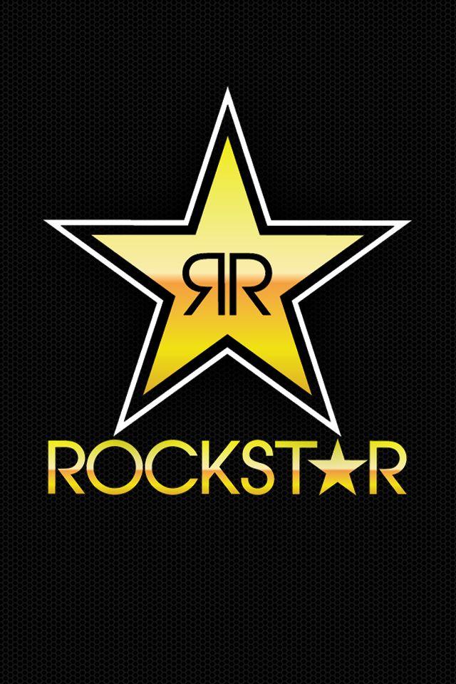 Rockstar Energy Wallpaper For Iphone Rockstar Rockstar Pegatinas Moto Logotipos Y Fondos