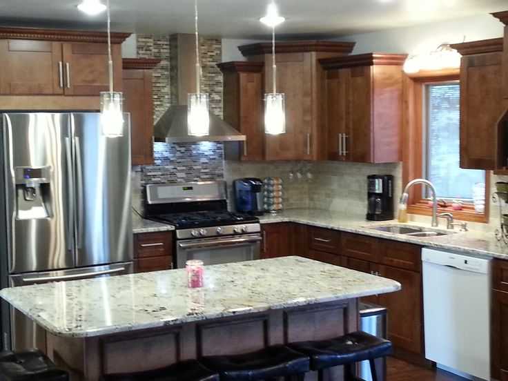 Sienna Shaker Kitchen Makeover A Kitchen Remodel For