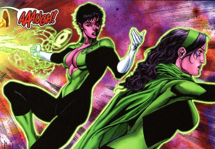 Green Lanterns Soranil Natu & Princess Iolande in Sinestro # 7 - Art  by Ethan Van Sciver, Geraldo Borges, & Jason Wright