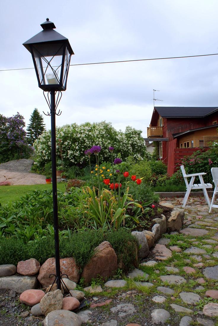 Nice garden in Kristinestad, Finland