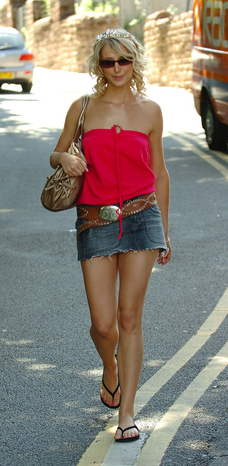 Ali Bastian - Denim Mini Skirt
