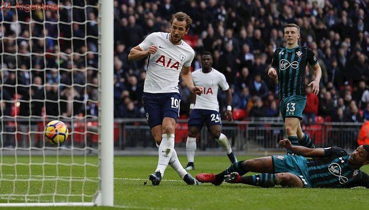 Con dos goles, Kane le arrebató a Messi el título de goleador mundial de 2017