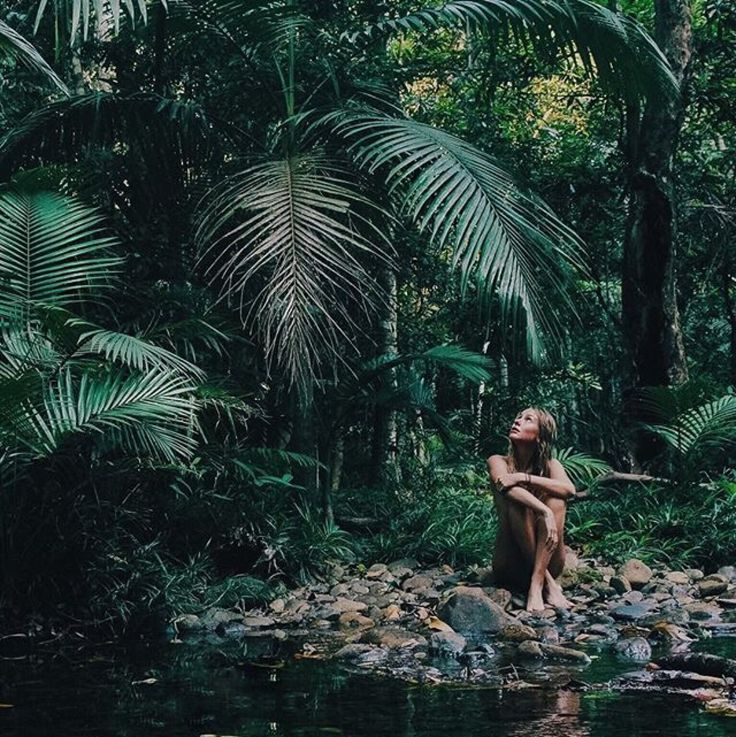 I thought that this looked like Alexi in the jungle, but also a great example of what the jungle looks like