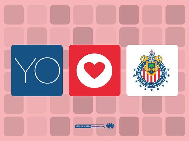 #YoAmoA #Chivas #LigraficaMX
