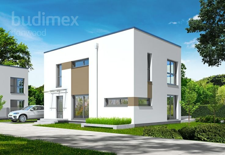 Zweigeschossige Häuser Danwood Park 127 CUBE || #hauser #house || http://www.danwood.de/hauser/zweigeschossige/park-127-cube