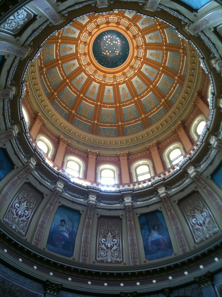 The Dome at the State Capital in
