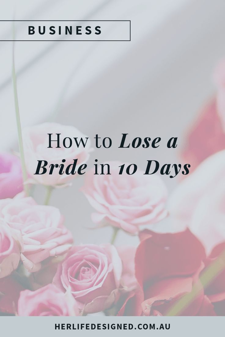 Are you making these mistakes with your brides? You could be putting them off without even realising it!