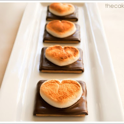 Smore Hearts for Valentines Day