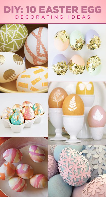 Decorating Easter eggs are not just for kids anymore. Join in on the craft fun with these creative and artsy decorating ideas. You'll be wanting to join the kiddos with their arts and crafts this year.