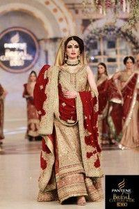 Pakistani couture, Mehdi Bridal Wear Outfit