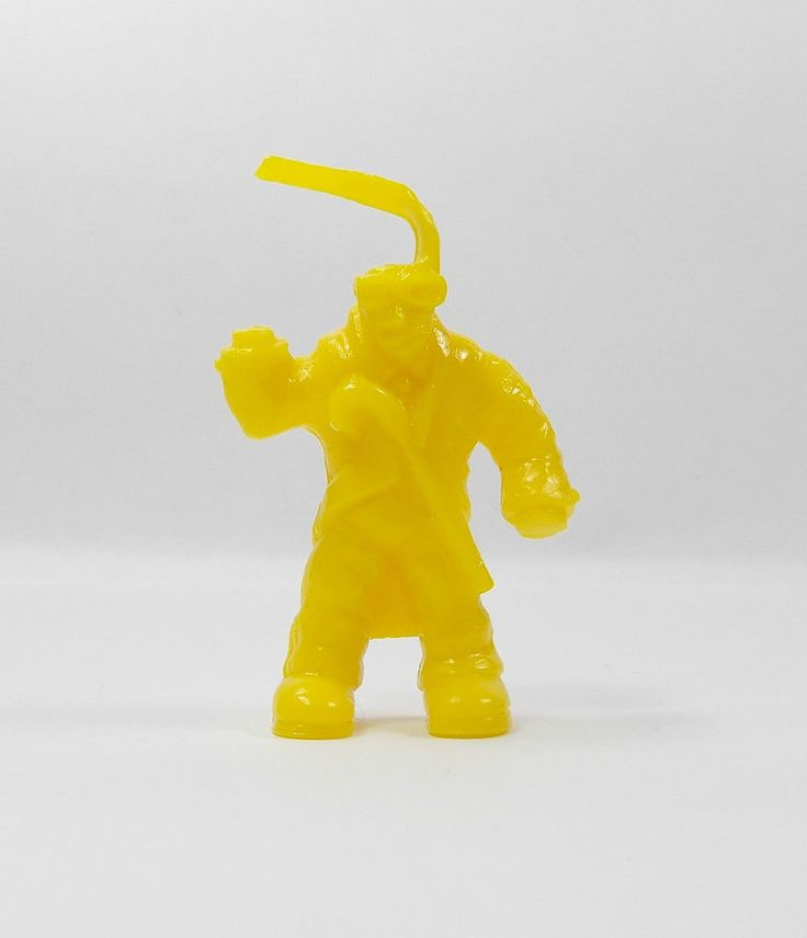 Monster In My Pocket - Series 1 - 46 Invisible Man - Yellow - Mini Figure