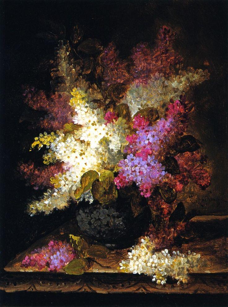 """""""Lilacs"""" by Raoul de Longpre"""