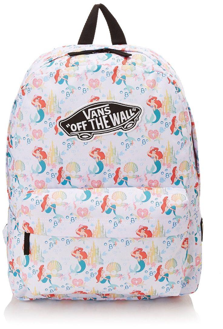 Vans G Disney Backpack - Mochila para mujer, color the little mermaid, talla única: Amazon.es: Zapatos y complementos