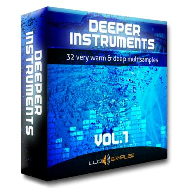 http://www.lucidsamples.com/multi-samples-packs/92-deeper-instruments-vol-1.html - Deeper Instruments Vol.1 is a set of multi samples that you won't find anywhere else. Warm, deep, clear and sophisticated sounds designed with passion and care for detail. What you will find here are electronic instruments, analog basses, classic leads and terrific organ sounds. These synths conjure up an extraordinary atmosphere, full of depth and inspiration in the process of creating your own music.