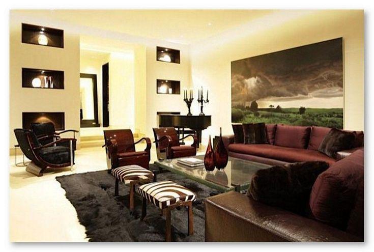 Mô hình kết hợp sơn tường nội thất tối giản
