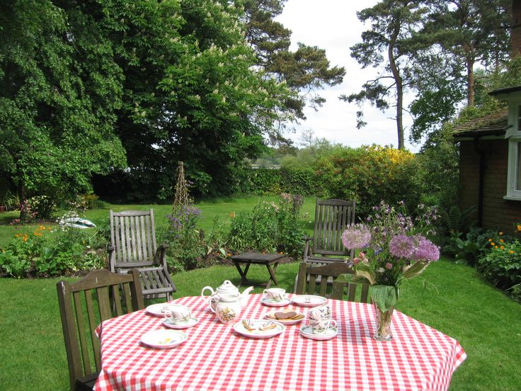 Time for tea in the Garden