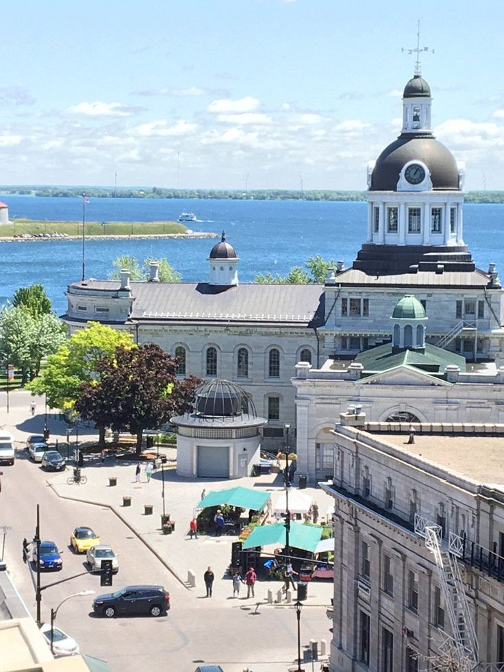 "Canada' oldest ""Farmers Market"". Kingston, Ontario"