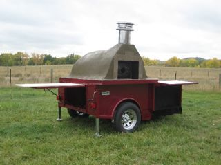 Mobile pizza oven....