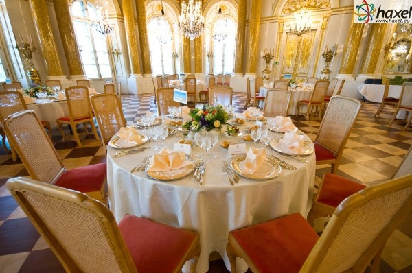 Magnificent décor of the Warsaw Royal Castle's interiors guarantees the most proper scenery for your event.