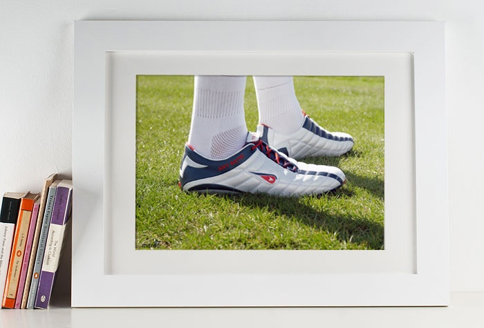 Personalised Football Boots Print