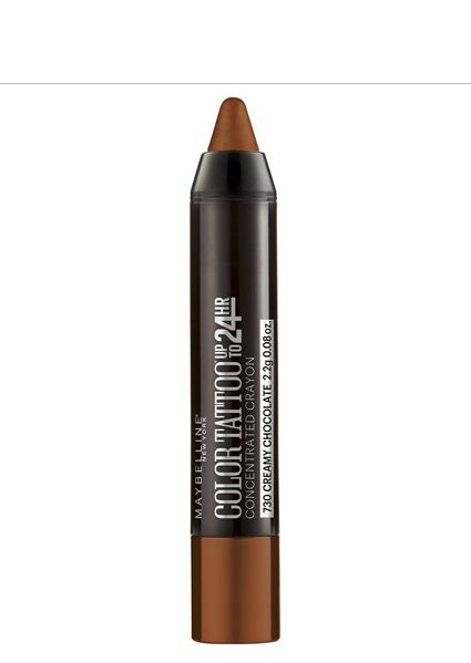 """""""Maybelline Color Tattoo in Creamy Chocolate 730 has become my go-to swipe on [the eyelid],"""" Greenbe... - Refinery29"""