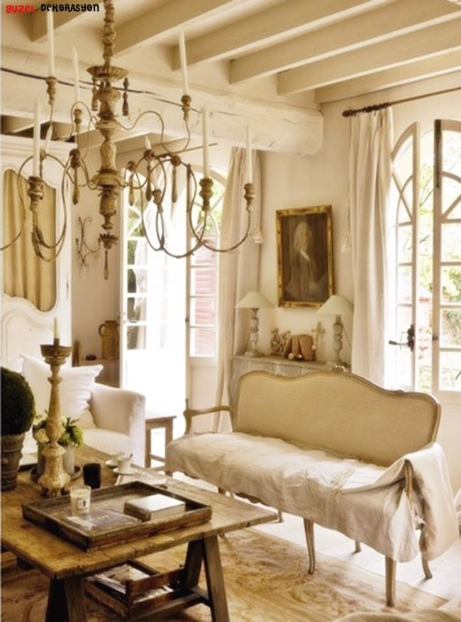 25 Refined Provence Living Room Design Ideas French Living Room