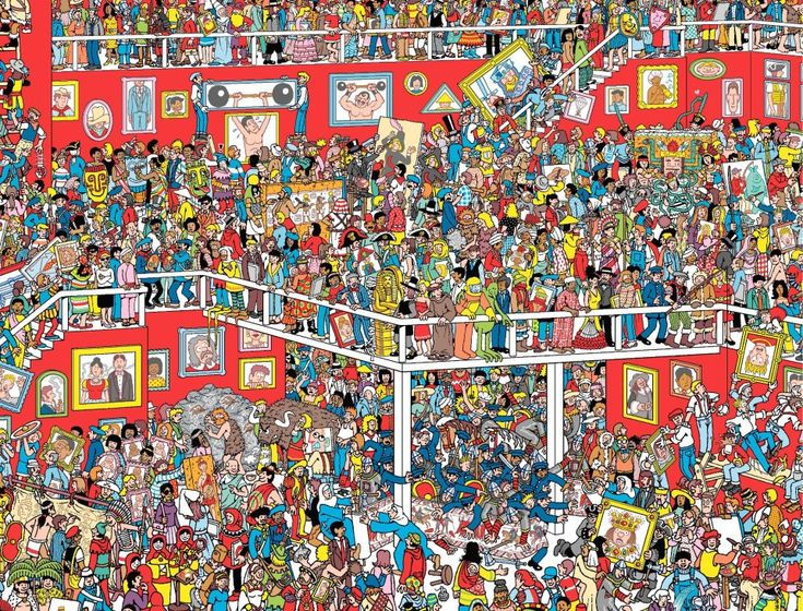 Keep Searching! But where are Wally and Wizard Whitebeard?