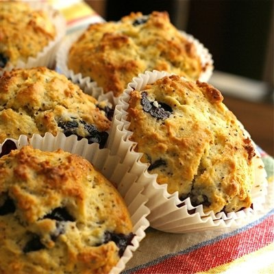 Blueberry Lemon Poppy Seed Muffins | Recipes - Breakfast | Pinterest