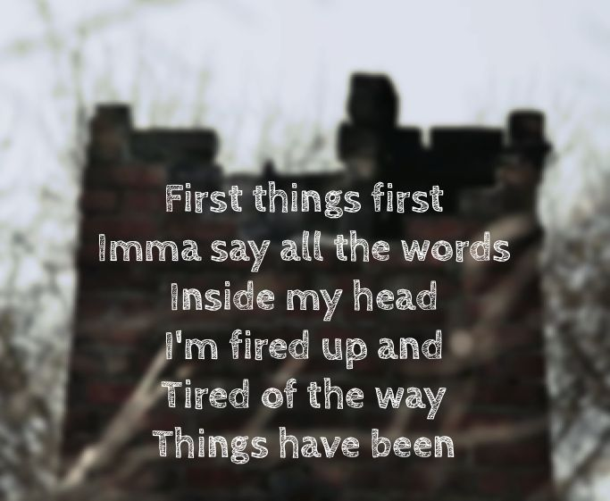 I'm so happy that I made this  Believer imagine dragons lyrics ~
