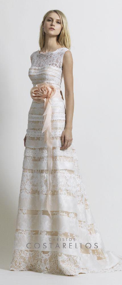 Christos Costarellos Bridal 2014 collection. Cotton lace on silk organza base and silk organza belt with handmade technique.   http://instagram.com/p/pY87F1P_yA/  #christoscostarellos #costarellos #costarellosbride #bride #bridal #bridetobe #bridalmarket #bridalfashion #wedding #weddingdress #fashion #hautecouture #luxury #luxuryfashion #instabride #instafashion #thatdress #lace #silk #madeingreece #designer #fashionhouse #brand #la #miami #atlanta #nyc #newyork