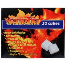 Samba aanmaakblokjes 32st wit € 0.59 17-08-16
