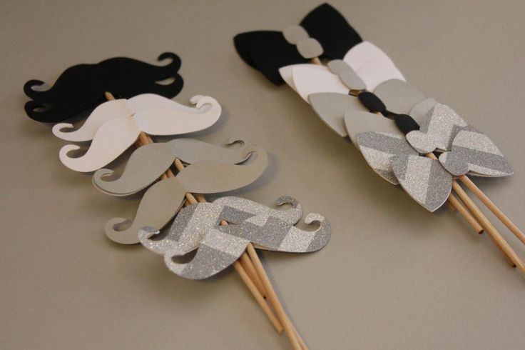 24 black white grey and silver chevron mustache and bowtie cupcake picks-wedding favor-groom-tuxedo-little man party-baby shower cupcakes- - http://babyshower-cupcake.com/24-black-white-grey-and-silver-chevron-mustache-and-bowtie-cupcake-picks-wedding-favor-groom-tuxedo-little-man-party-baby-shower-cupcakes/