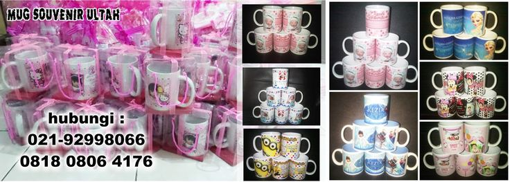 MUG souvenir ulang tahun anak | Barang Promosi, Mug Promosi, Payung Promosi, Pulpen Promosi, Jam Promosi, Topi Promosi, Tali Nametag