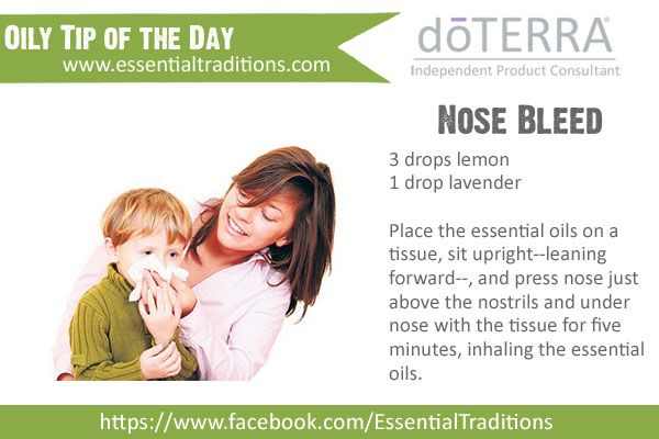 Essential Oils for Nose Bleeds