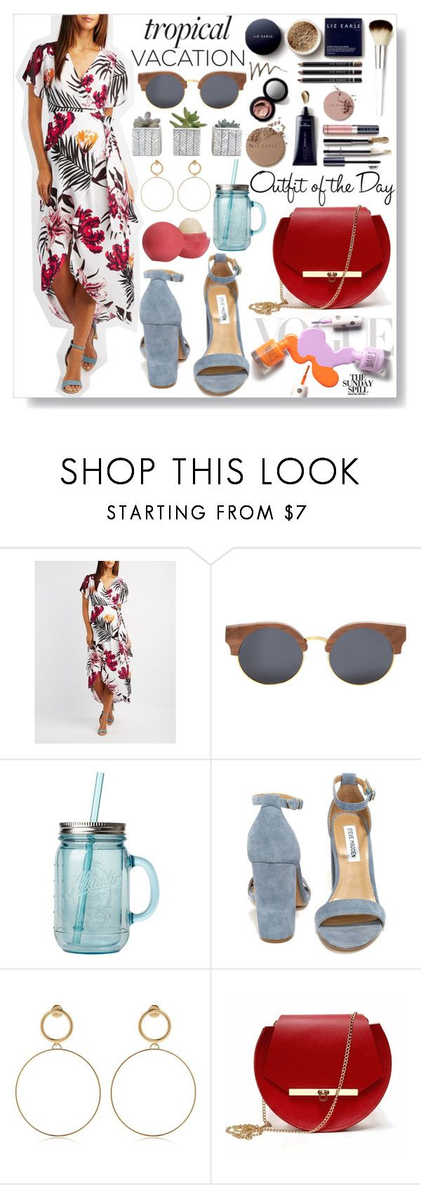 """""""#287"""" by bulls-fan ❤ liked on Polyvore featuring Charlotte Russe, Finlay & Co., Petit Bateau, Vera Wang, Steve Madden, Maria Francesca Pepe, Angela Valentine Handbags and Eos"""