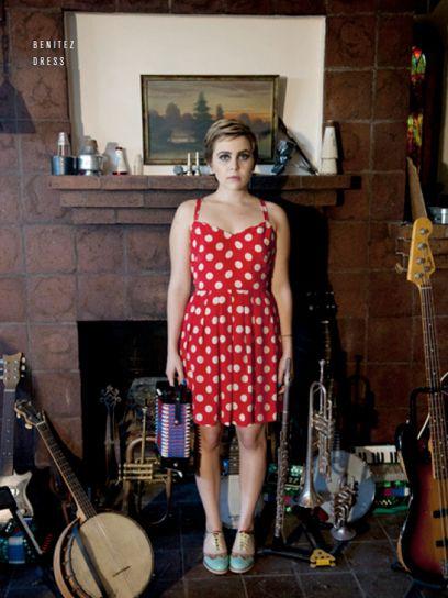 red polka dot dress  Rachel Antonoff's Spring/Summer 2012 Collection: The Complete Lookbook