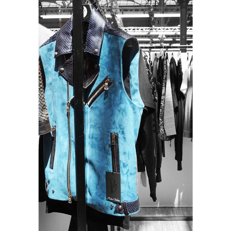 Blue from 🇫🇷,Made in France,  Richard Valentine new collection ss'18 for Tranoï during the fashion trade show