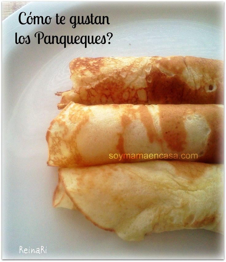 como hacer panqueques pancakes