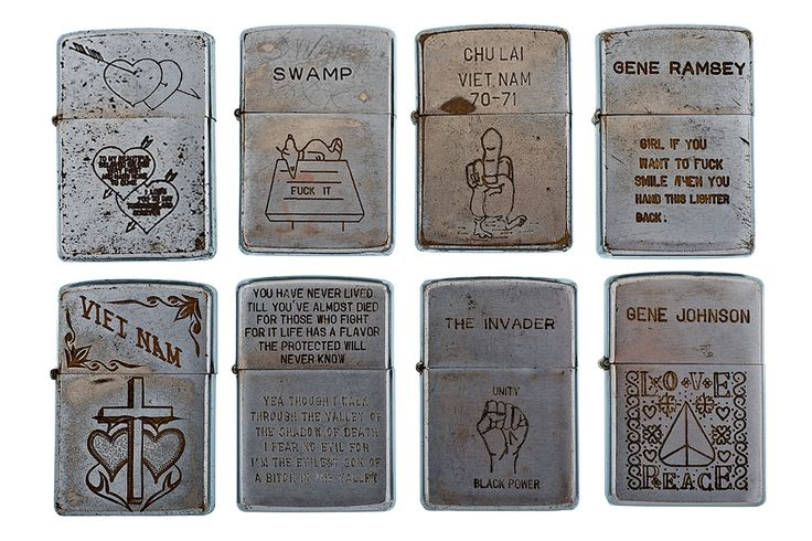 ZIPPO LIGHTERS IN VIETNAM | BLAST FROM THE PAST: Vintage Vietnam Zippo Collection