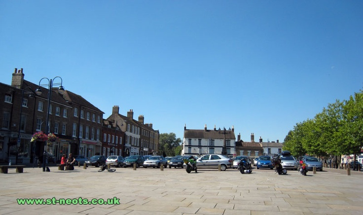 St.Neots Town Square, my home town