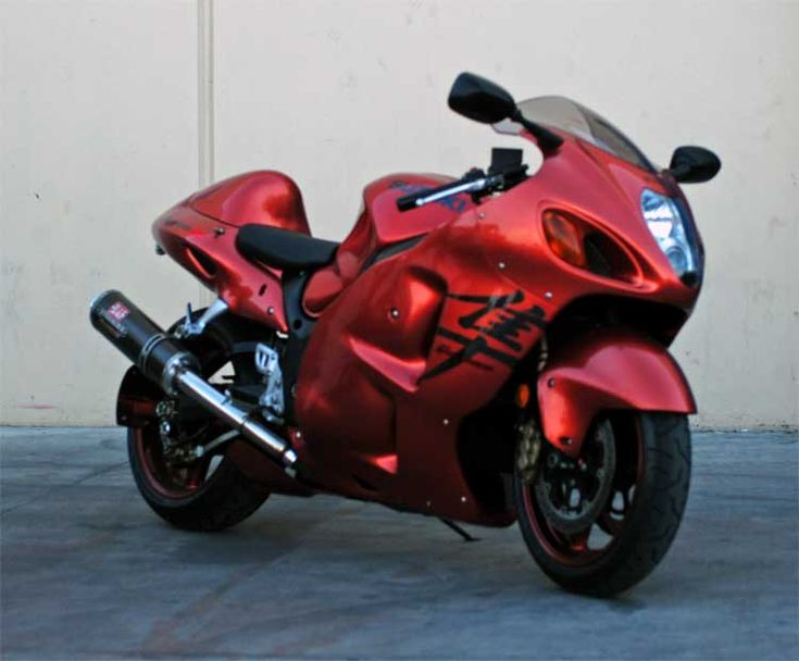 GSX-R1300 'busa. Bad to the bone.