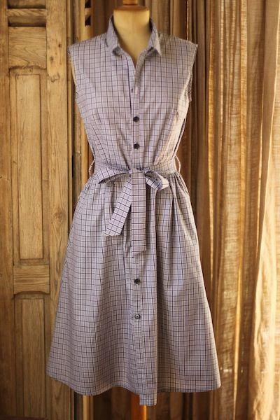 Shirtdress - 'Traveller Dress' sew Lisette Pattern (townmouse.typepad)