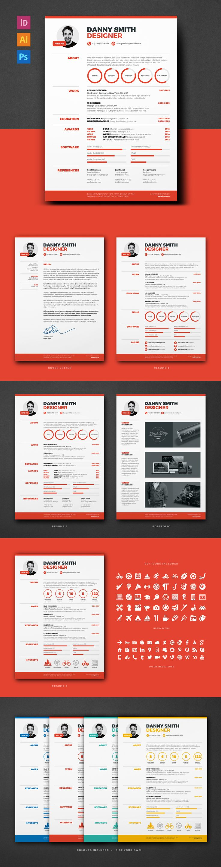 67 best resume templates images on pinterest creative resume