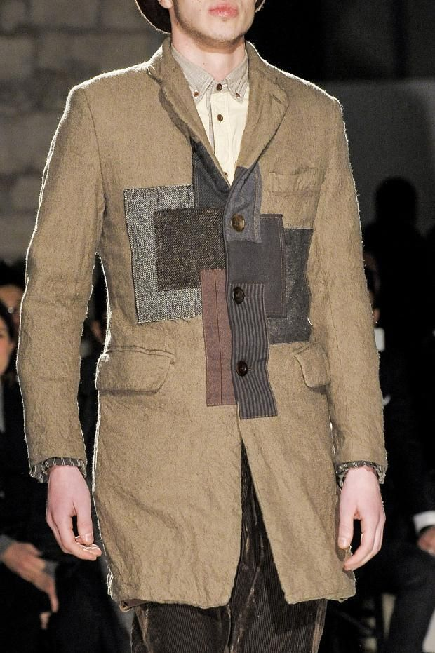 Junya Watanabe Man Men's Details A/W '13 Like the idea of the patchwork on the front...