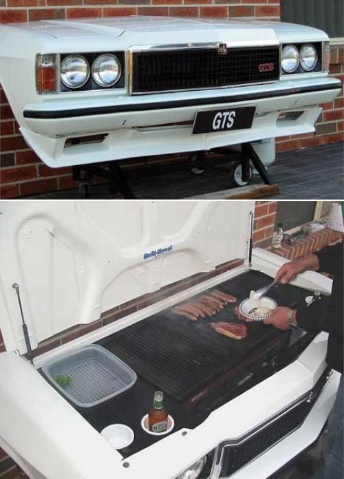 Car BBQ Ideas