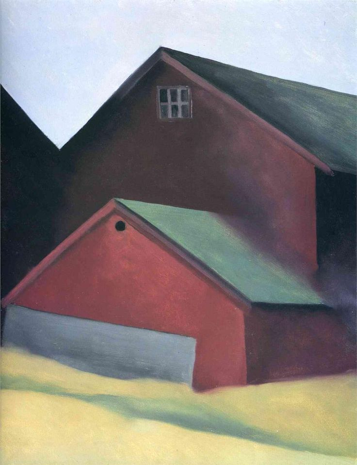 Ends Of Barns  Artist: Georgia O'Keeffe