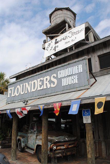 Flounders, Pensacola Beach, FL