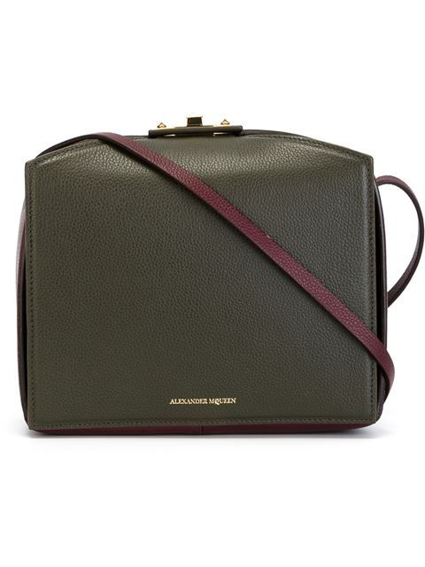 Alexander McQueen 'The Box' shoulder bag