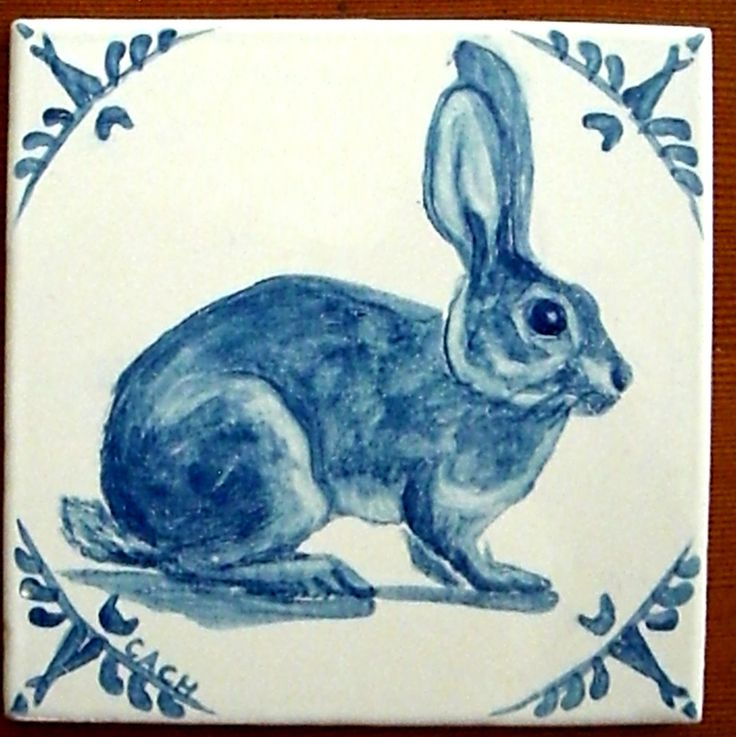Amazing Dutch Style Tiles - inspired by old Delft tiles