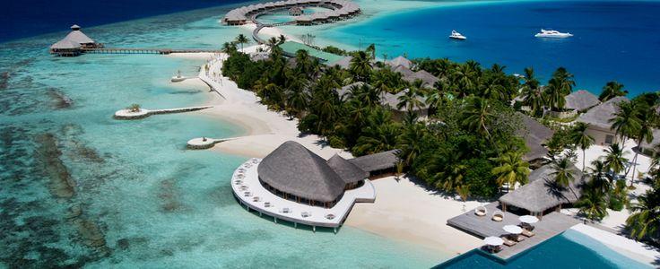 Maldives Luxury Resort - Huvafen Fushi!!